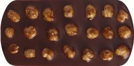 MILK CHOCOLATE 38% CARAMEL PIEMONT HAZELNUTS